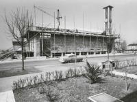 13_Richtfest Pfarrheim - Frühjahr 1962